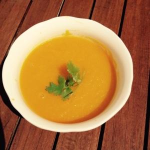 soupe de carottes au gingembre