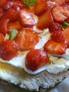 Ma tarte aux fraises à la mascarpone