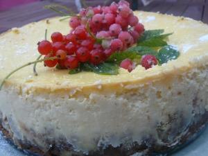 cheesecake citron groseilles