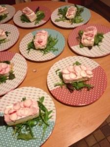 Cheesecake sale aux Tuc et aux radis