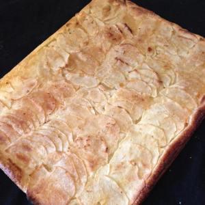 tarte aux pommes et zestes de citron