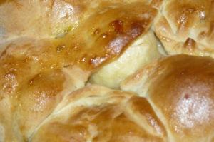 tarte aux pommes briochée