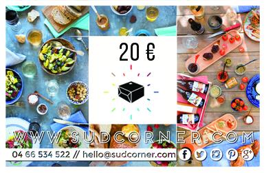 carte cadeau sudcorner 20€