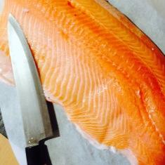Saumon en croûte au mascarpone