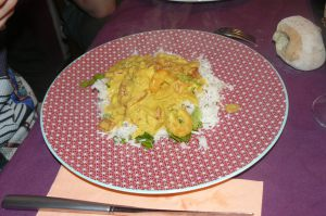 CURRY DE CREVETTE
