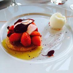 tartelette aux fraises de Ducasse