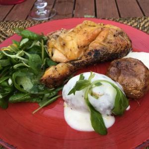 poulet au romarin