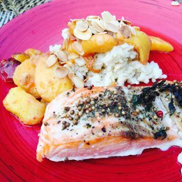 saumon nectarine