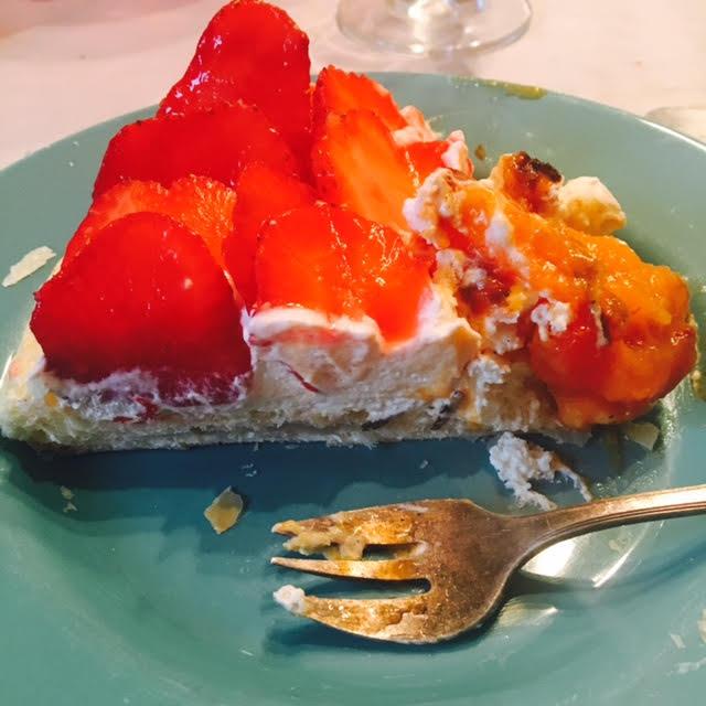 tarte fraise abricots