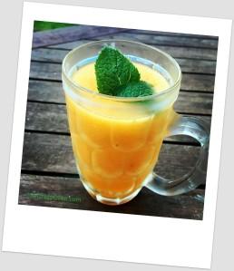 frappé melon nectarine