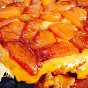 ma tarte tatin aux abricots