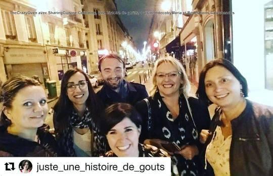 Clélia, Olivier, Fred, Mélanie, Céline