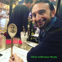 Olivier Muret et Monsieur Woody