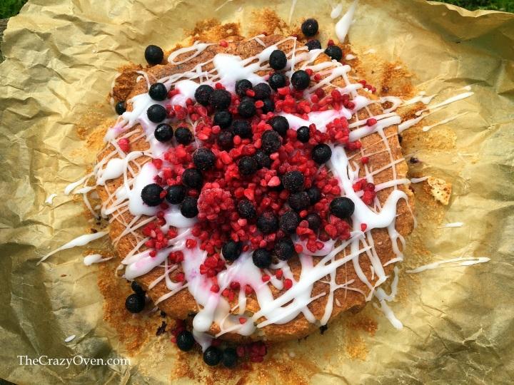 cake myrtille framboise