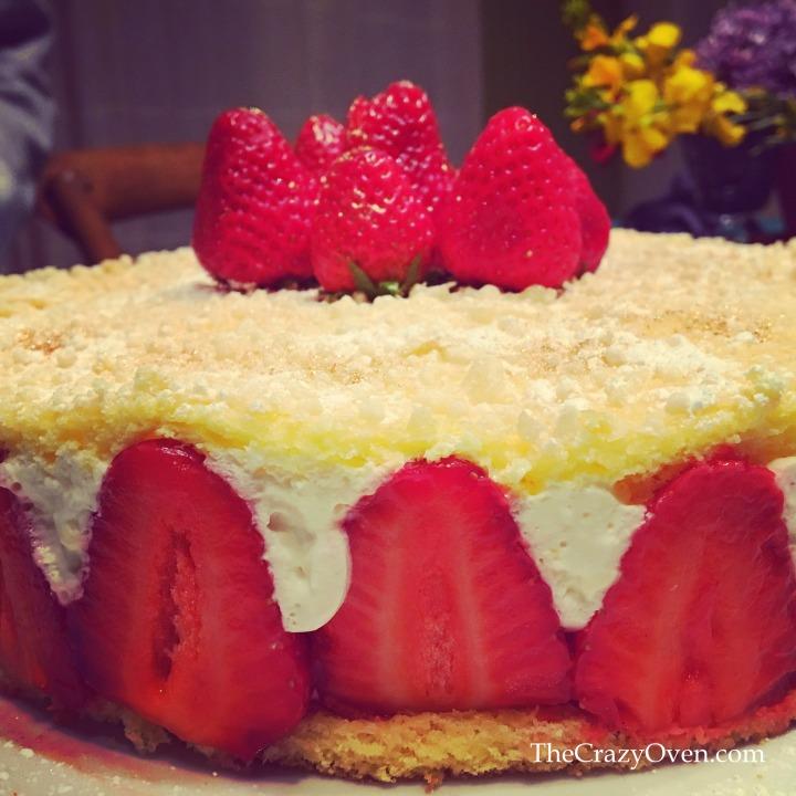 fraisier de pâques