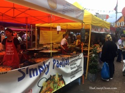 Food market Portobello London- theCrazyOven