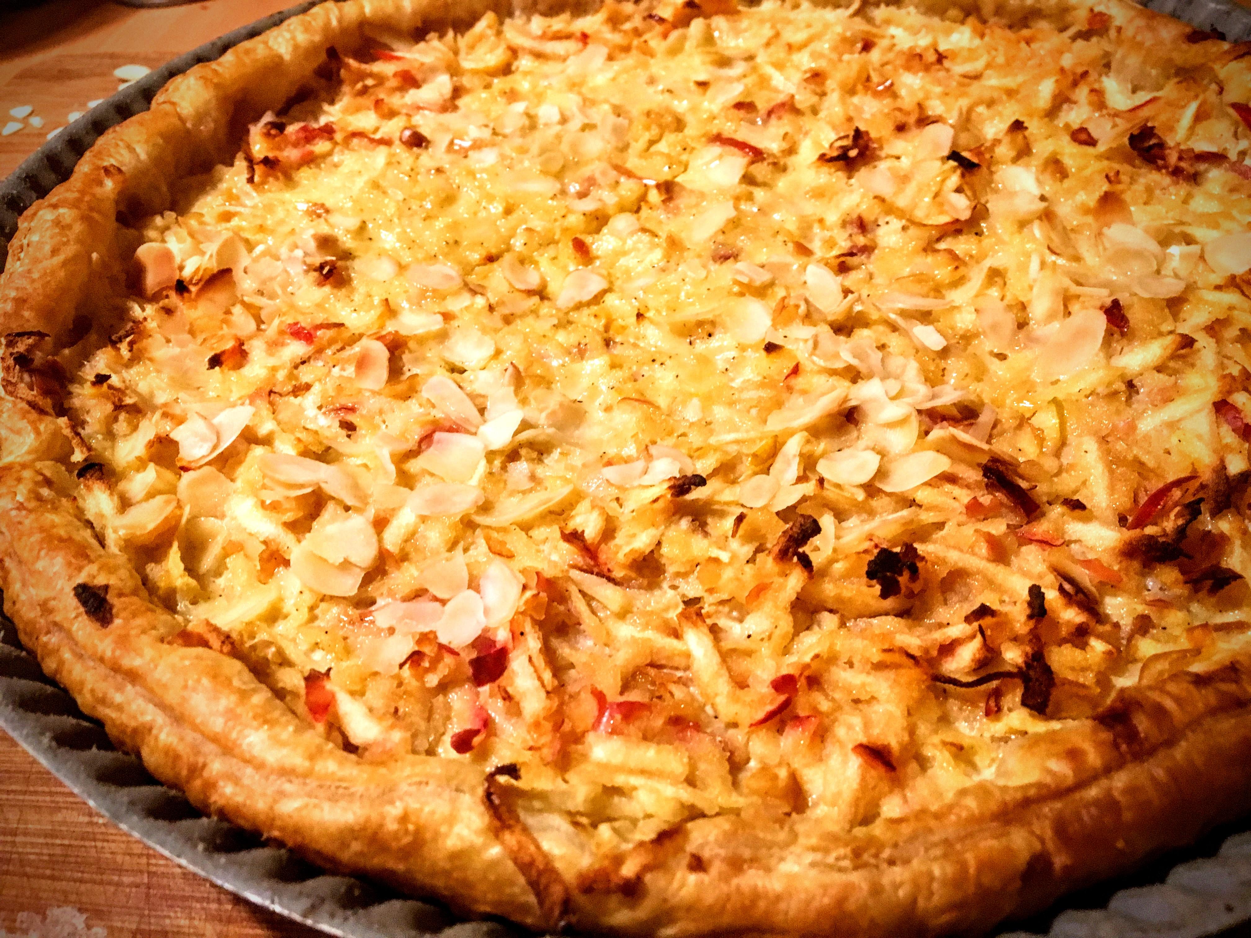 Tarte aux pommes râpées à l'alsacienne (2)