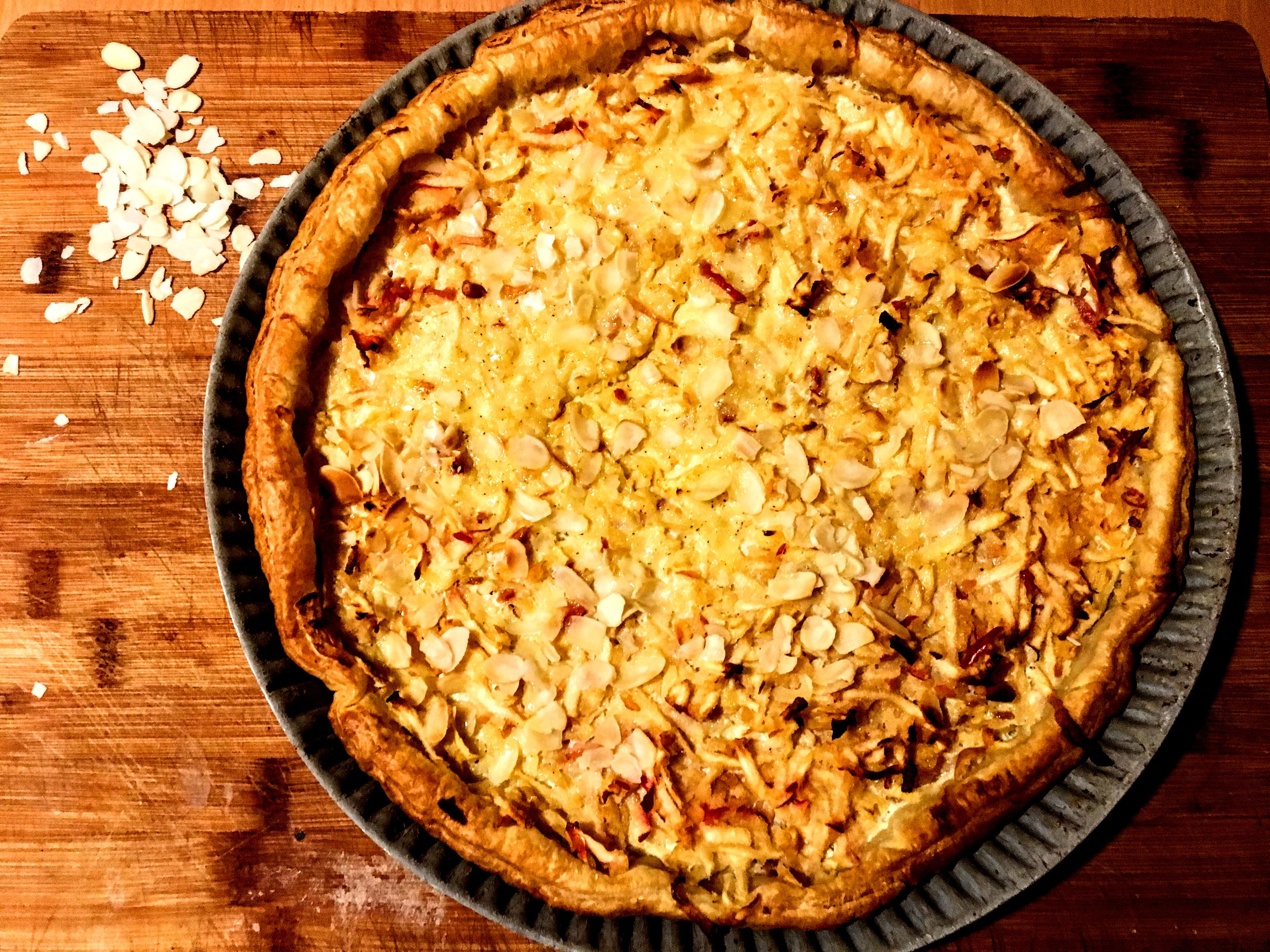 Tarte aux pommes râpées à l'alsacienne (3)