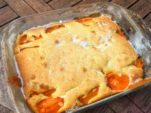 Gâteau aux abricots (4)